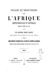 Voyages et découvertes dans l'Afrique septentrionale et centrale, pendant les années 1849 à 1855: Volume4