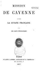 Mission de Cayenne et de la Guyane française