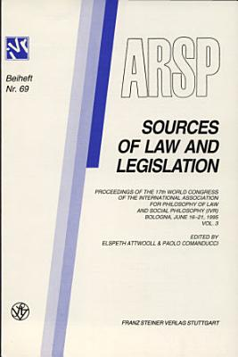 Sources of Law and Legislation PDF