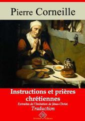 Instructions et prières chrétiennes: Nouvelle édition augmentée