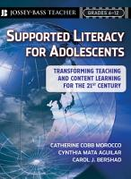 Supported Literacy for Adolescents PDF