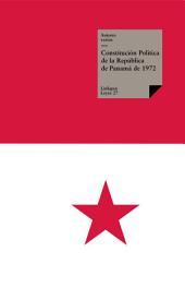 Constitución de Panamá de 1972