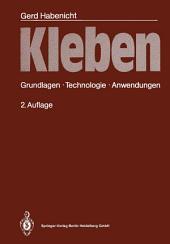 Kleben: Grundlagen, Technologie, Anwendungen, Ausgabe 2