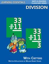 Division Flashcards: Division Facts with Critters