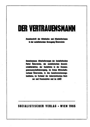 Der Vertrauensmann PDF