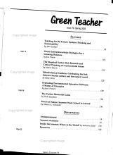 Green Teacher PDF
