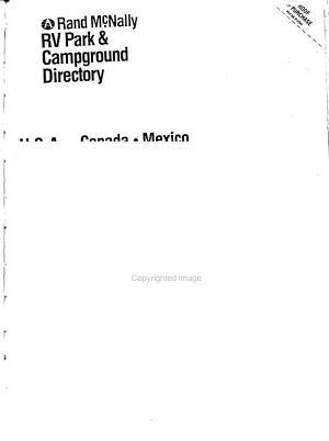 Rand McNally RV Park   Campground Directory PDF
