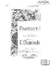Partout: édition pour baryton ou mezzo-soprano