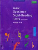 Guitar Specimen Sight Reading Tests  from 2009