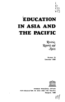 Education in Asia and the Pacific PDF
