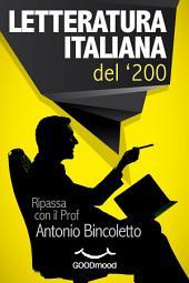 Letteratura italiana del '200: Ripassa con il Prof.