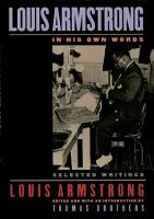 Louis Armstrong  in His Own Words PDF