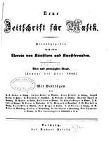 Zeitschrift f  r Musik PDF