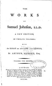 The Works of Samuel Johnson: With an Essay on His Life and Genius, Volume 2