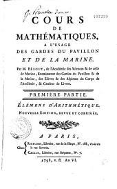 Cours de mathématiques à l'usage des gardes du pavillon et de la marine: Volume2