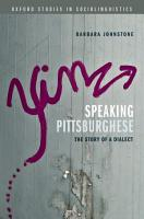 Speaking Pittsburghese PDF