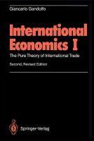 International economics I  PDF