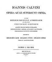 Ioannis Calvini opera quae supersunt omnia: pars posterior-v. 21. Thesaurus epistolicus Calvinianus. 1872-1879