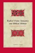 Radical Frame Semantics and Biblical Hebrew