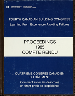 Fourth Canadian Building Congress PDF