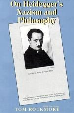 On Heidegger's Nazism and Philosophy