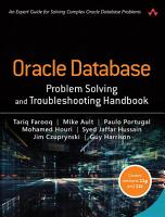 Oracle Database Problem Solving and Troubleshooting Handbook PDF