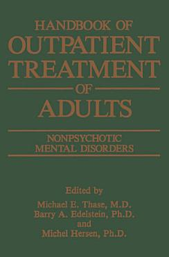 Handbook of Outpatient Treatment of Adults PDF