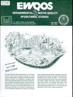 EWQOS, Environmental & Water Quality Operational Studies