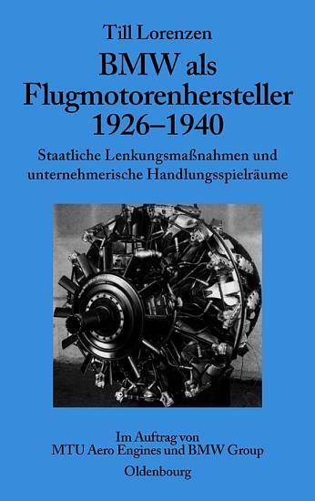 BMW als Flugmotorenhersteller 1926 1940 PDF