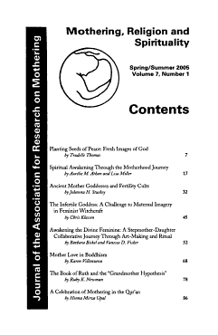 Journal of the Association for Research on Mothering PDF