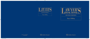 Lawyer s Desk Book  2nd Edition PDF