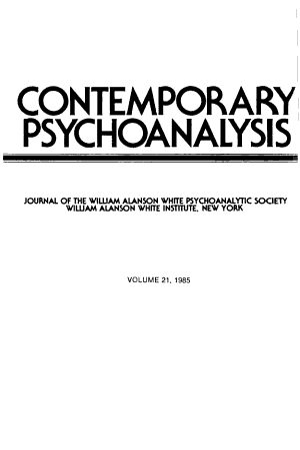 Contemporary Psychoanalysis