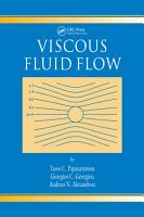Viscous Fluid Flow PDF