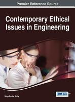 Contemporary Ethical Issues in Engineering PDF