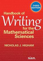 Handbook of Writing for the Mathematical Sciences, Third Edition