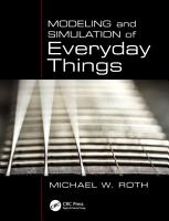Modeling and Simulation of Everyday Things PDF