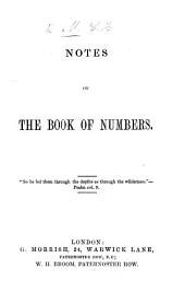 Notes on the Book of Numbers