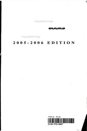 Hockey Register and Guide 2005 06