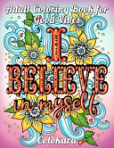 Adult Coloring Book for Good Vibes PDF
