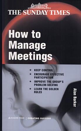 How to Manage Meetings PDF