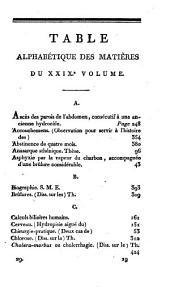 Journal de médecine, chirurgie, pharmacie, etc: Volumes29à30