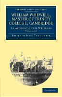 William Whewell  D D   Master of Trinity College  Cambridge PDF