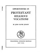 Opportunities in Protestant Religious Vocations