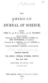 The American Journal of Science: Volume 127