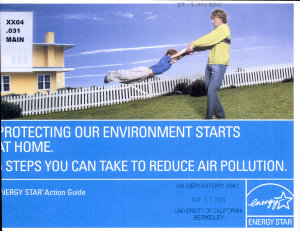Protecting Our Environment Starts at Home PDF