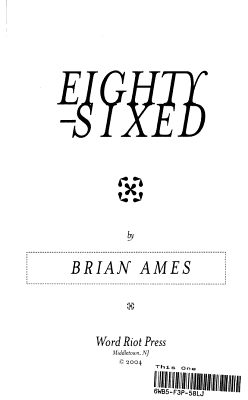 Eighty sixed PDF