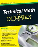 Technical Math For Dummies PDF