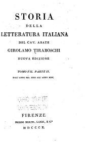 Storia della letteratura italiana: Dall' anno MD fino all' anno MDC