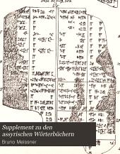 Supplement zu den Assyrischen Wörterbüchern