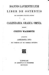 Calendaria Graeca